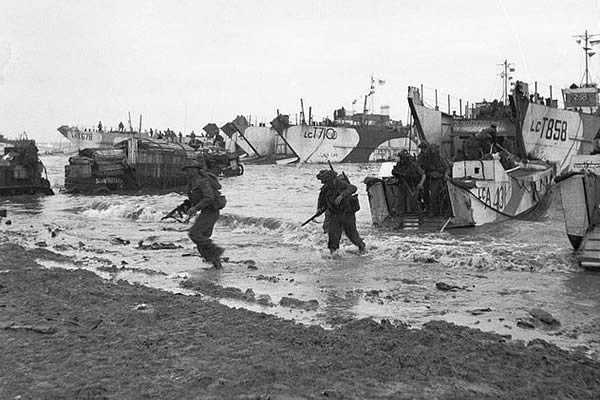 D-Day landings 6 June 1944